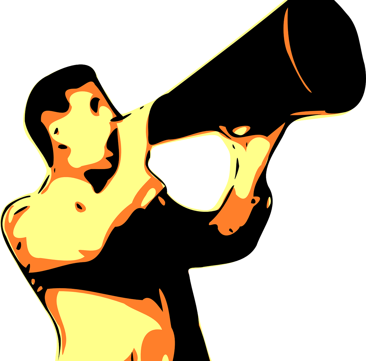 Quelle: https://pixabay.com/de/megaphon-schreien-stimme-laut-mann-150254/